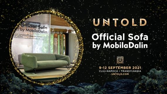 "Concurs Untold 2021 ""UNTOLD Official Sofa – Likes for Discounts"""