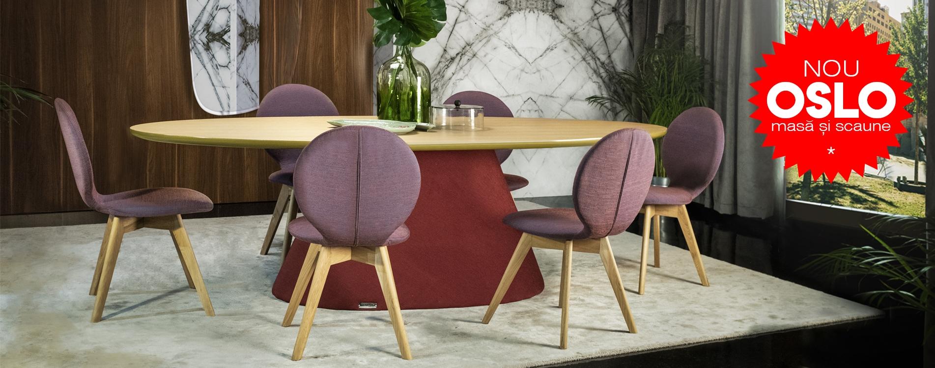 Oslo masă și scaun
